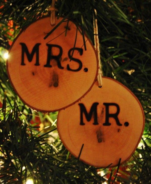 Christbaum Dekoration Hochzeit Weihnachten Mademoiselle No More