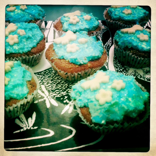 Cupcakes Himbeer Vanille