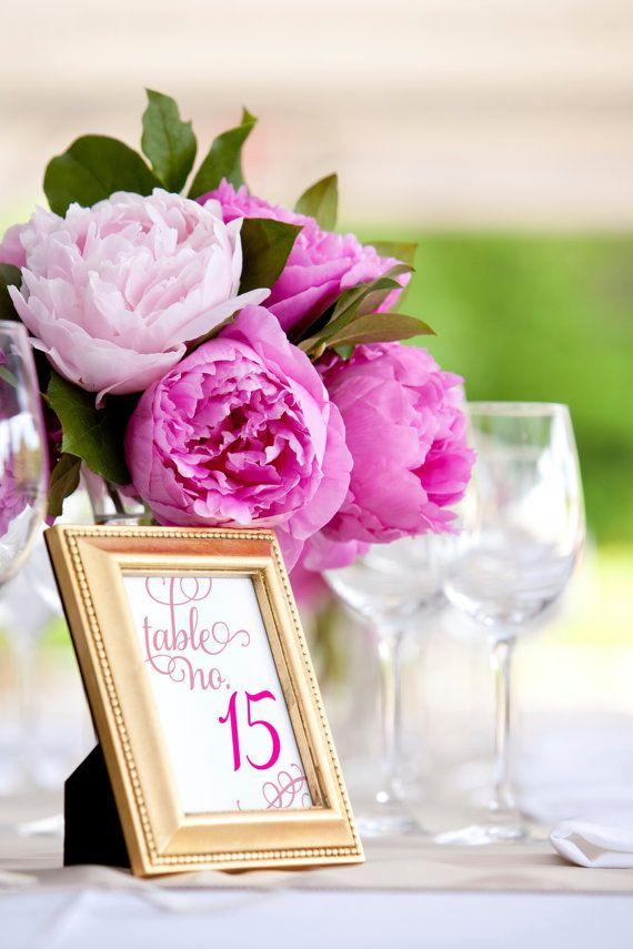 Pfingstrosen Lila Tischdeko Hochzeit Mademoiselle No More