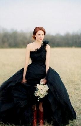 Hochzeitskleid Schwarz Ballkleid Halloween  Mademoiselle No More ...