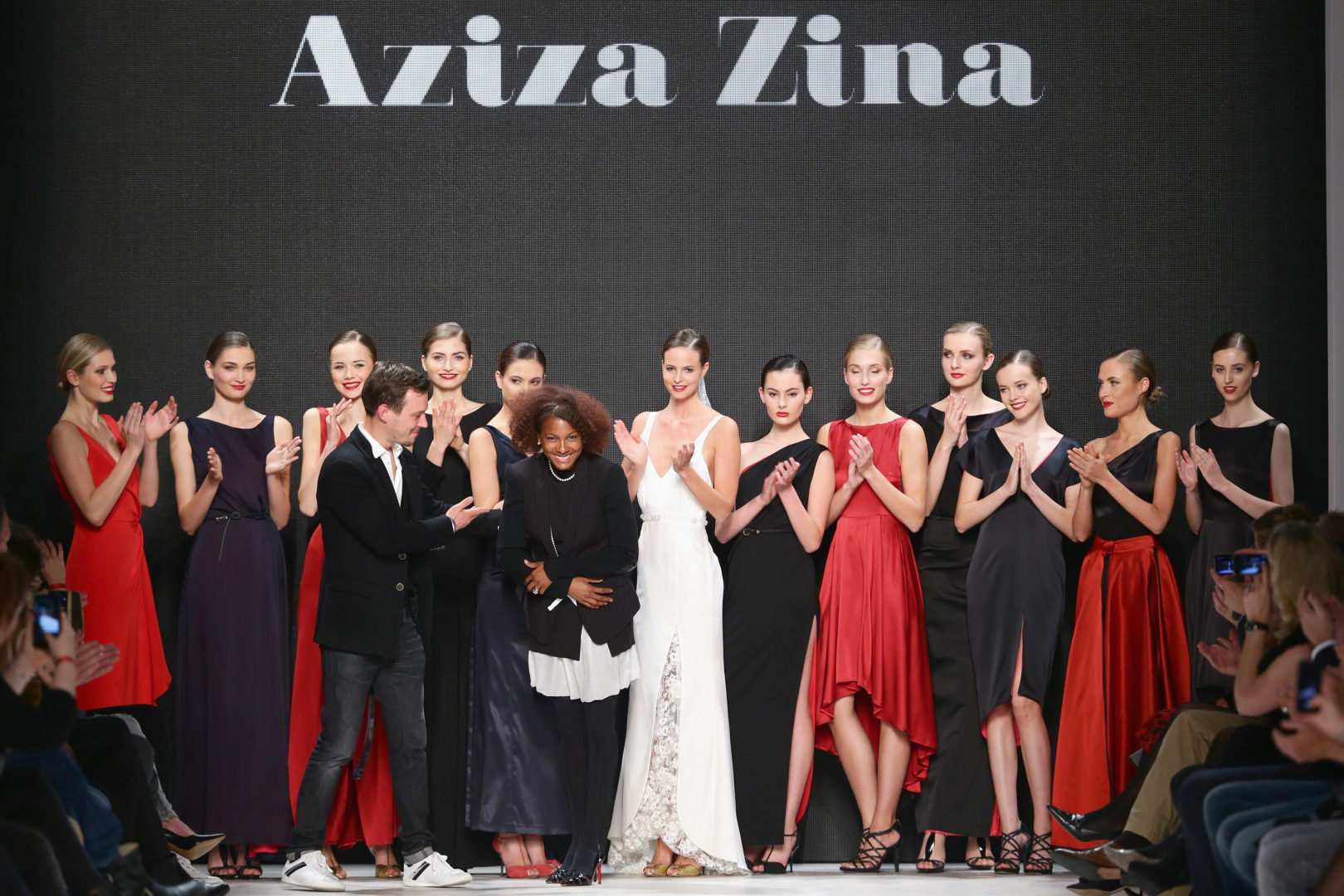 Aziza Zina - Mercedes-Benz Fashion Days Zurich 2014