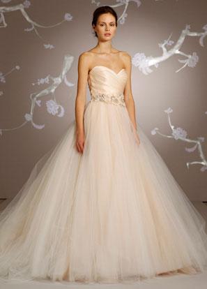 Brautkleid Lazaro Blush | Mademoiselle No More: Schweizer Hochzeitsblog