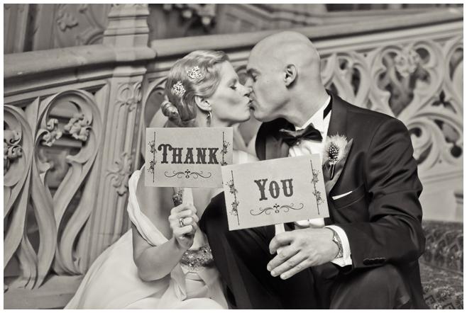 Brautpaar-Vintage