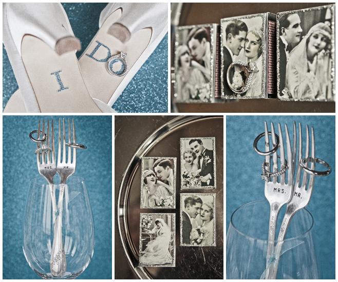 Vintage-Hochzeit-Dekoration