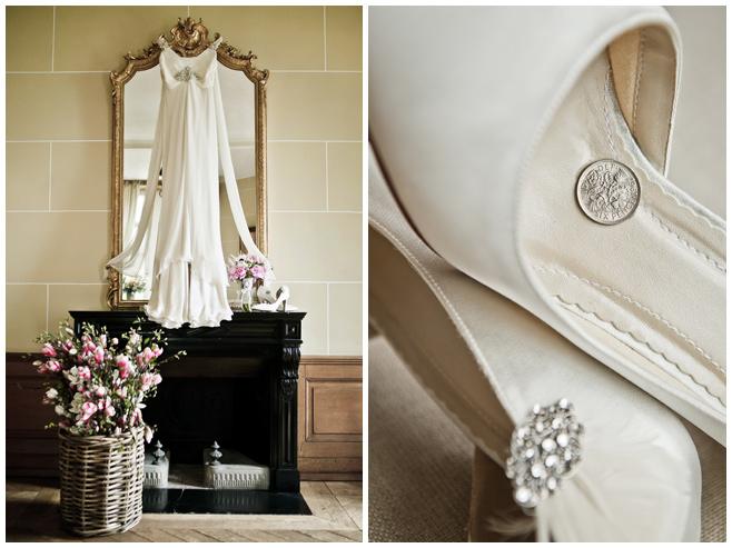 Vintage-Hochzeit-Kleid