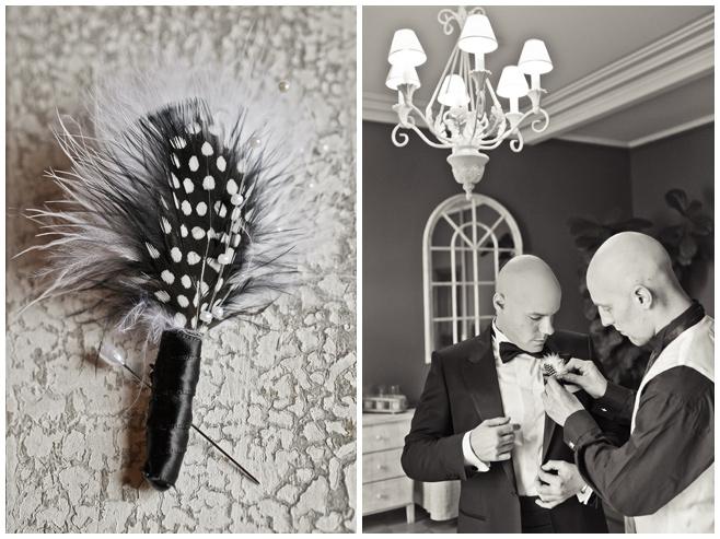 Vintage-Hochzeitsfotografie