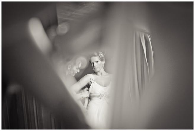 Vintage-Hochzeitskleid