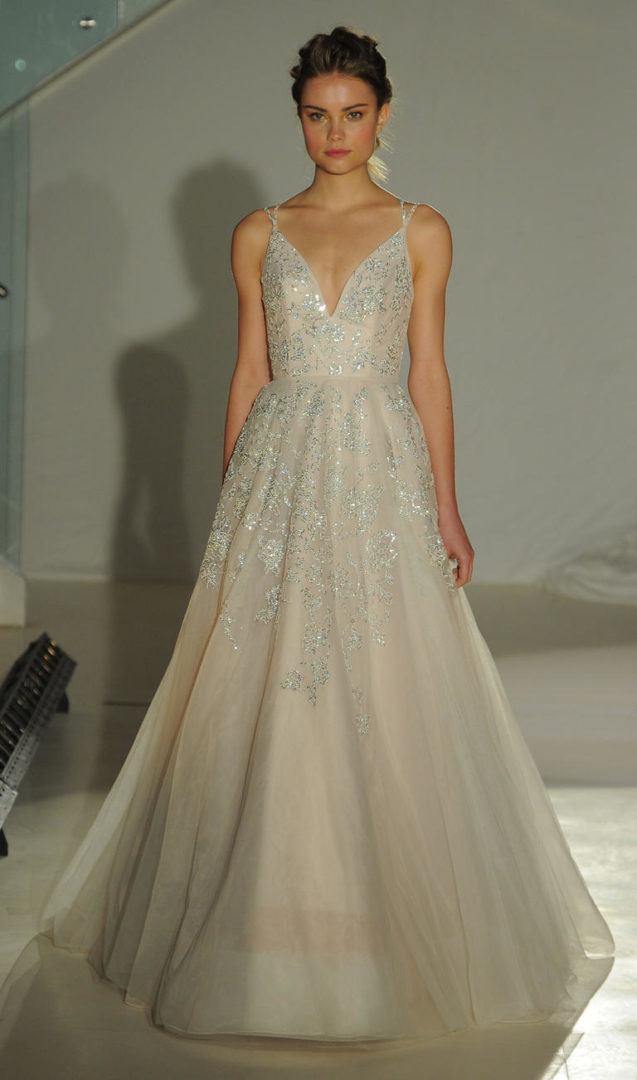 Fantastisch Blush Brautkleider Bilder - Brautkleider Ideen ...